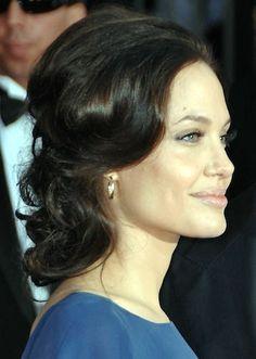 Angelina Jolie Updo Hairstyle