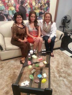 En el Set de PAT - entrevista en la Revista El Mañanero en la ciudad de Tarija!