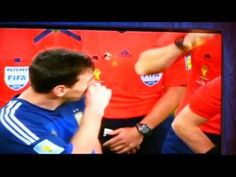 MESSI CRYING,EMOTIONAL MOMENTS OF WORLD CUP 2014 FOOTBALL FINAL