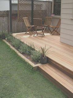 Small Backyard Decks, Small Patio, Backyard Privacy, Backyard Pools, Deck Pergola, Deck Patio, Concrete Patio, Outdoor Deck Decorating, Outdoor Decor