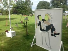 wedding photo op cut out board photos - Google Search