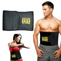 TNT Pro Series Waist Trimmer Weight Loss Ab Belt Premium Stomach Wrap and Waist Trainer 10 W x 51 L Large * To view further for this item, visit the image link. Sweat Workout, Abs Workout Routines, Fun Workouts, Workout Ideas, Stomach Wrap, Ab Belt, Six Pack Abs, Tummy Tucks, Core Muscles