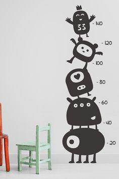 Stickaroo Wall Decals - Watch Me Grow Cute Little Things, Cute Little Girls, Wall Decals, Wall Art, Wall Stickers, Watch Me Grow, Baby Room Decor, Kids Room, Vinyl Decor