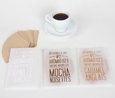 Coffee Flavored Filters