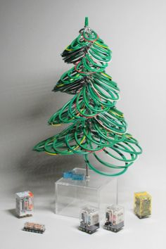 Christmas Tree, Christmas Ornaments, Wire Art, Electric, Holiday Decor, Home Decor, Teal Christmas Tree, Decoration Home, Room Decor