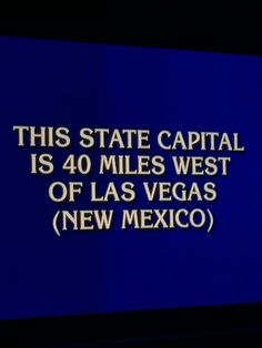 Wow!  The real Las Vegas on Jeopardy!!!