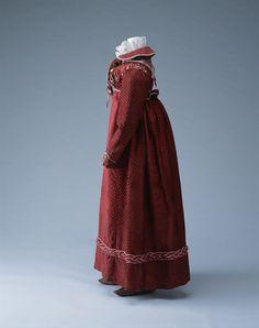 Jacket (Spencer), bodice and skirt circa 1915