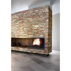 Panel de piedra natural stonepanel laja multicolor ideal para decorar paredes de interior y - Leroy merlin boe ...