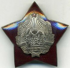 Decoration: Order for Distinguished Services in Defense of the Social Or (Romania) - Orders: Socialist Republic of Romania (RSR)) Romania, Catalog, Brochures