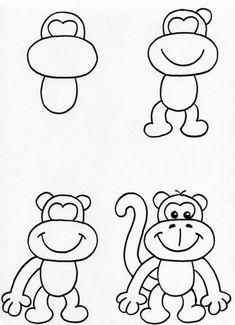 17 beste afbeeldingen van Leren tekenen 'stap voor stap