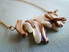 Front Page Sugar and Spice Necklace  Shell by chrystalyn on Etsy, $22.00