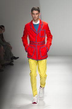 Salvatore Ferragamo -- Spring 2013 Menswear