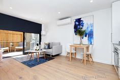 Experience The Sleek Urban Design Colorful Interiors, Interior, Interior Inspiration, One Bedroom, Timber Flooring, Home Decor, Floor To Ceiling Windows, Two Bedroom, One Bedroom Apartment