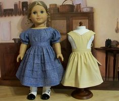 1853 Everyday Dress and Apron, Made for Cecile and Marie Grace | Flickr - Photo Sharing!