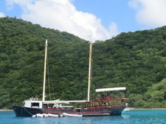 """""""the willy T"""", norman island, bvi"""