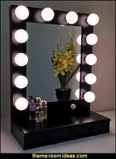 Hollywood Glam Themed Bedroom Ideas   Marilyn Monroe Old Hollywood Decor    Hollywood Vanity Mirrors   Hollywood Theme Decor  Decorating Hollywood Glam  Style ...