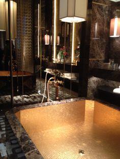 Mosaic bathroom design by Sicis