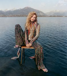 Frederikke Sofie by Harley Weir for Missoni Fall/Winter 2016/2017 Campaign