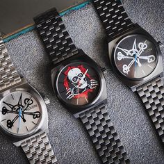 Paying respect to the skateboarding culture that has influenced our roots from the beginning, we've partnered with industry pioneer@powellperalta on a limited edition watch capsule. Available at selected retailers only, find the closest shop at Nixon.news/powell_p