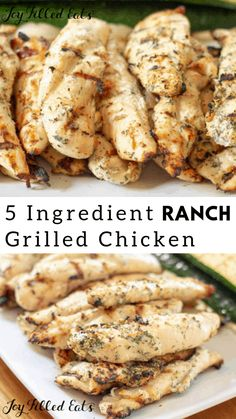 Ranch Chicken – Low Carb Keto THM FP 5 ingredients EASY Ranch Grilled Chicken – We love this Ranch Chicken all year long. My Ranch Yogurt Marinade is one of our favorite marinades for grilled chicken. It has so much flavor and only 5 ingredients. Stew Chicken Recipe, Easy Crockpot Chicken, Low Carb Chicken Recipes, Grilling Recipes, Low Carb Recipes, Diet Recipes, Healthy Recipes, Ranch Chicken Recipes, Dessert Recipes