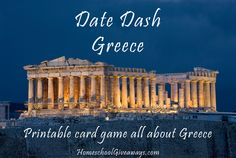 FREE All About Greece Game