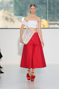 See the Dreamy S/S 15 Delpozo Collection via @WhoWhatWear