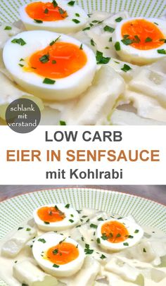 low carb veggies low carb Eier in Senfsauce Easy Snacks, Easy Healthy Recipes, Easy Meals, Low Carb Veggies, Breakfast Pizza, Eat Smart, Low Carb Keto, Food Inspiration, Food And Drink