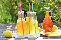 Isteni limonádészirup bögrésen | Rupáner-konyha Cocktails, Drinks, Sweet Life, Birthday Candles, Ice Cream, Cake, Desserts, Food, Lemonade