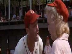 Possibly the BEST movie quote EVER!!! There-is-no-crying-in-baseball!!!!