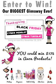Black Friday Holiday Giveaway Enter To Win! via @beauty2makeup