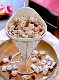 Salted Caramel Puppy Chow. THE BEST STUFF EVER!   The Cookie Rookie