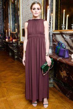 The Olivia Palermo Lookbook : Olivia Palermo at Valentino Dinner in Paris