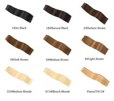 Yilite Hair Remy Tape In Human Hair Extensions, 9 Colors Silky Straight European Tape in Hair Extensions Salon Style Remy Hair Extension Salon, Medium Blonde, Bleach Blonde, Tape In Hair Extensions, Salon Style, Moisturize Hair, Remy Human Hair, Weave Hairstyles, Hair Type