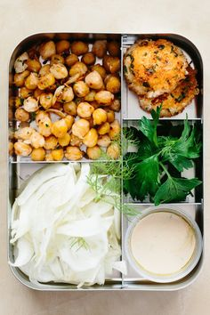 Recipe: Garlicky Chickpea and Fennel Salad with Baked Goat Cheese — Sunday Night Salads