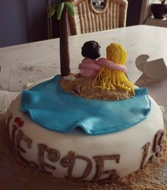 Beach cake cake Topper