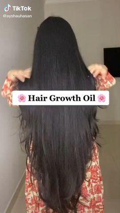 Hair Growth Oil, Hair Mask For Growth, Homemade Hair Treatments, Diy Hair Treatment, Natural Hair Treatments, Hair Tips Video, Long Hair Tips, Hair Growing Tips, Grow Hair
