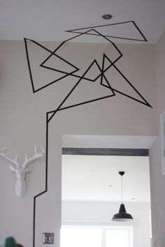 geometrical+washi+tape+wall+design+-+DIY/+April+and+the+Bear (1000×1500)
