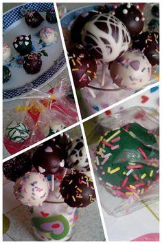 Cake pops hechos por mi
