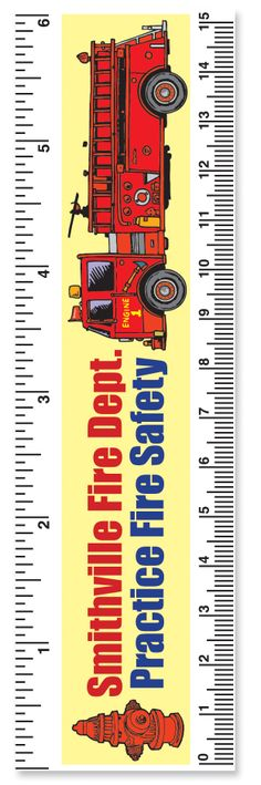 Promotional Product Paper Ruler