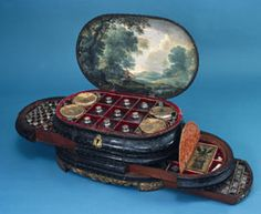 The Giustiniani Medicine Chest, Genoese, c.1565 - currently on display at the Science Museum, South Kensington, London