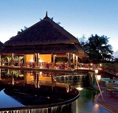This popular wedding venue in Mauritius is where romanticism marries privacy and serenity. As soon as you step inside Le Prince Maurice your senses will be rejuvenated with the wonderfully indulgent ambiance and peacefulness. Your luxurious wedding and stay in this hotel will be characterized by the splendor of the architectural magnificence and warm hospitality of the staff - It has earned the reputation of being the lover's paradise and will surely satisfy your heart too.