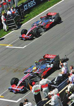 Lewis Hamilton & Fernando Alonso l Canada 2007