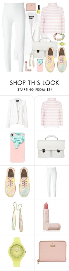 """Untitled #2782"" by tapping-raven ❤ liked on Polyvore featuring Vanessa Seward, MaxMara, Casetify, Zanellato, STELLA McCARTNEY, Moschino, Ippolita, Lipstick Queen, Versus and Kate Spade"