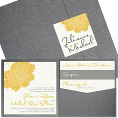 Layout and organization of invitations. Kraft paper instead of gray, black chalkboard looking paper instead of directions/reception/details, etc.... white paper invite