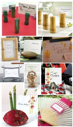 Japanese Inspired Table Cards on http://itsabrideslife.com