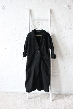 Esby Baronne Slouch Duster Black