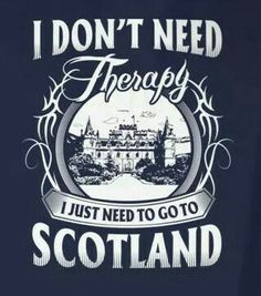 I don't need therapy. I just need to go to Scotland. Scotland Travel, Scotland Trip, Scotland Sightseeing, Scotland History, British Isles, Oh The Places You'll Go, Glasgow, To Go, Genealogy
