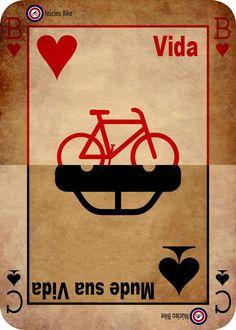 Mude sua vida, vá de bicicleta