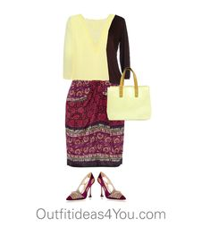 Raspberry is a cool red and is a little to strong for a tinted summer. I found this great skirt in raspberry that would look great on you! Lemon chiffon is a perfect yellow for a light summer.  Have fun and wear what you love!  Jen Thoden           Shop This Look