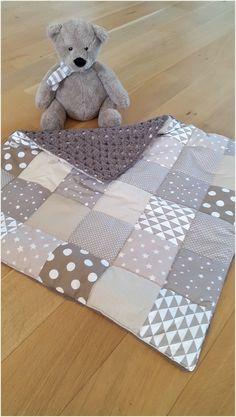 Couverture crochet / patchwork